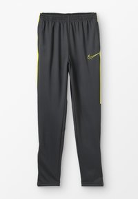 Nike Performance - DRY ACADEMY PANT - Tracksuit bottoms - anthracite/opti yellow - 0