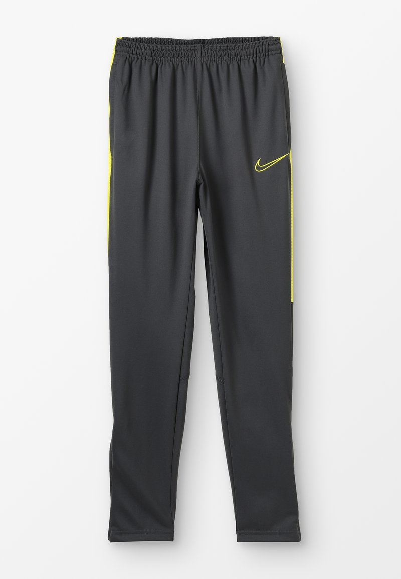 Nike Performance - DRY ACADEMY PANT - Tracksuit bottoms - anthracite/opti yellow