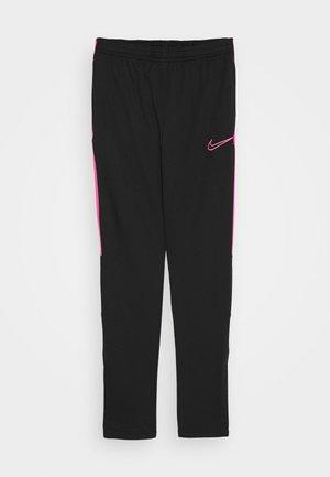 DRY ACADEMY PANT - Teplákové kalhoty - black/hyper pink