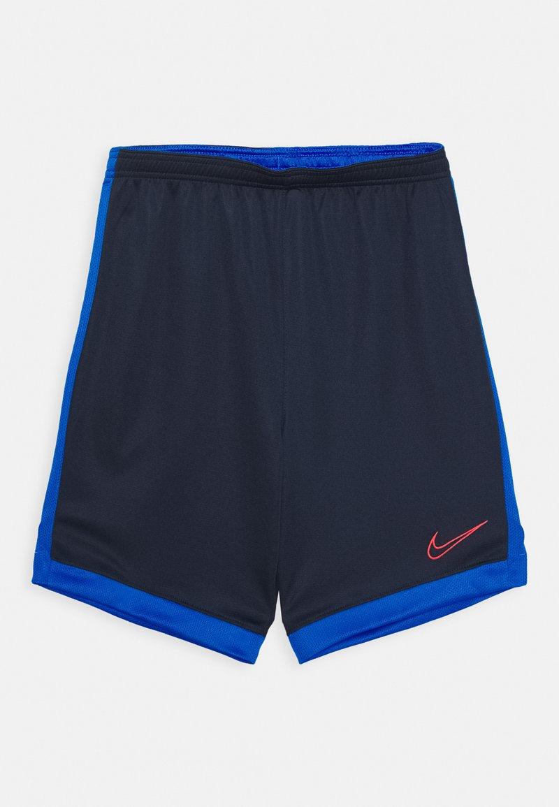 Nike Performance - DRY ACADEMY SHORT - Sports shorts - obsidian/soar/laser crimson