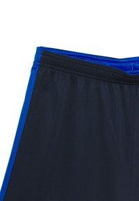 Nike Performance - DRY ACADEMY SHORT - Sports shorts - obsidian/soar/laser crimson - 2