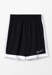Nike Performance - DRY ACADEMY SHORT - Krótkie spodenki sportowe - black/white - 0