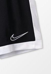 Nike Performance - DRY ACADEMY SHORT - Krótkie spodenki sportowe - black/white - 4