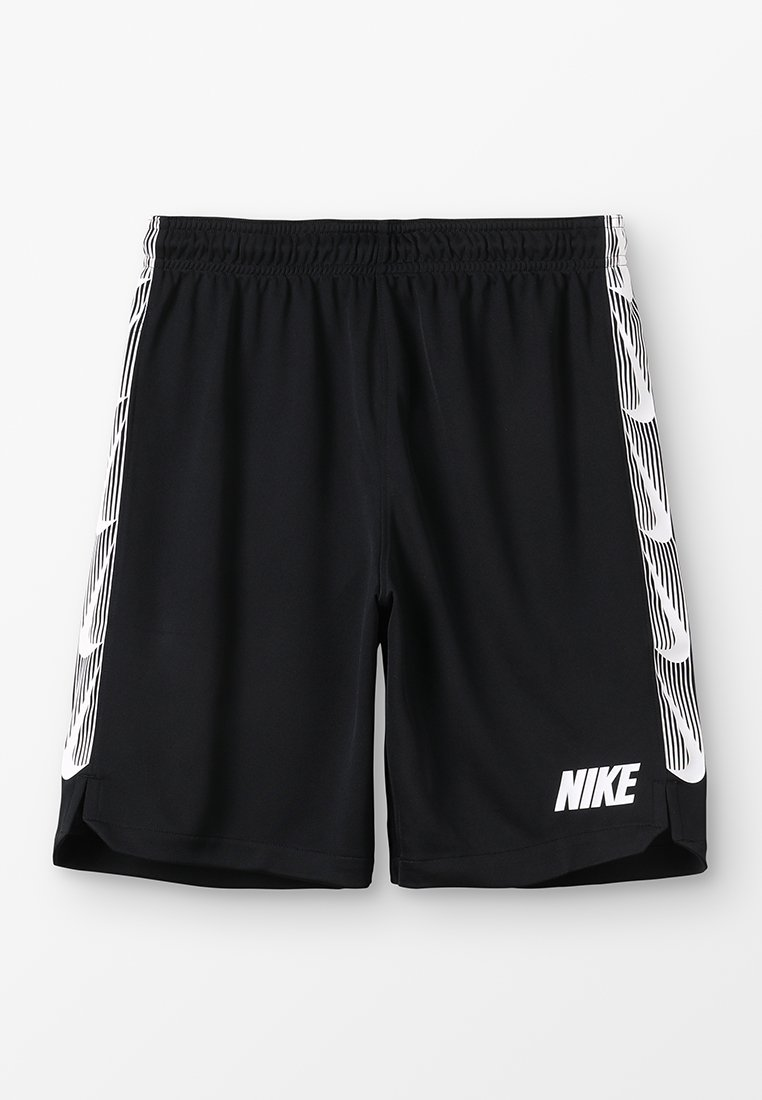 Nike Performance - DRY SHORT - Sports shorts - black/white