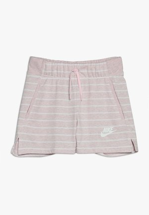 Sports shorts - pink foam/white