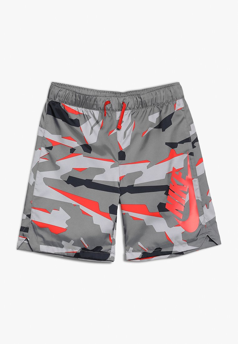 Nike Performance - SHORT CAMO - kurze Sporthose - gunsmoke/habanero red