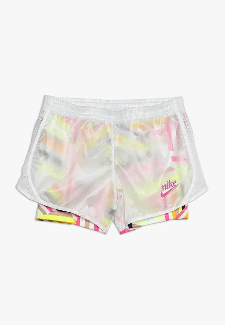 Nike Performance - TEMPO ICON - Träningsshorts - white/laser fuchsia