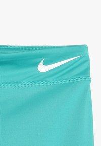 Nike Performance - TROPHY COLORBLOCK - Leggings - cabana/vivid pink/teal tint - 4