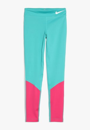 TROPHY COLORBLOCK - Leggings - cabana/vivid pink/teal tint