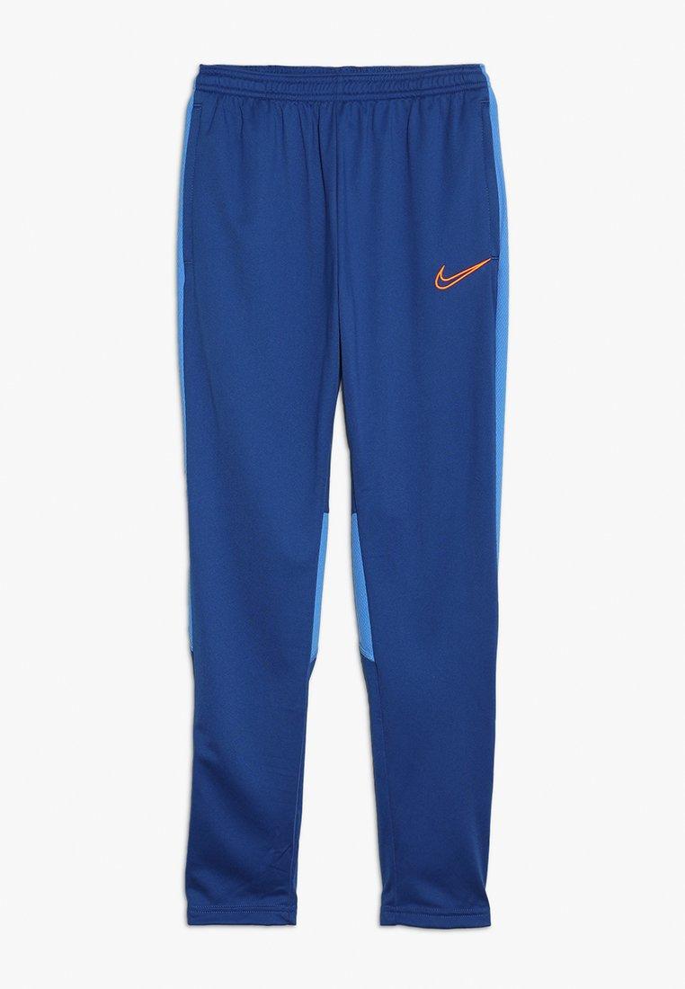 Nike Performance - DRY ACADEMY PANT - Spodnie treningowe - indigo force/pacific blue/total orange