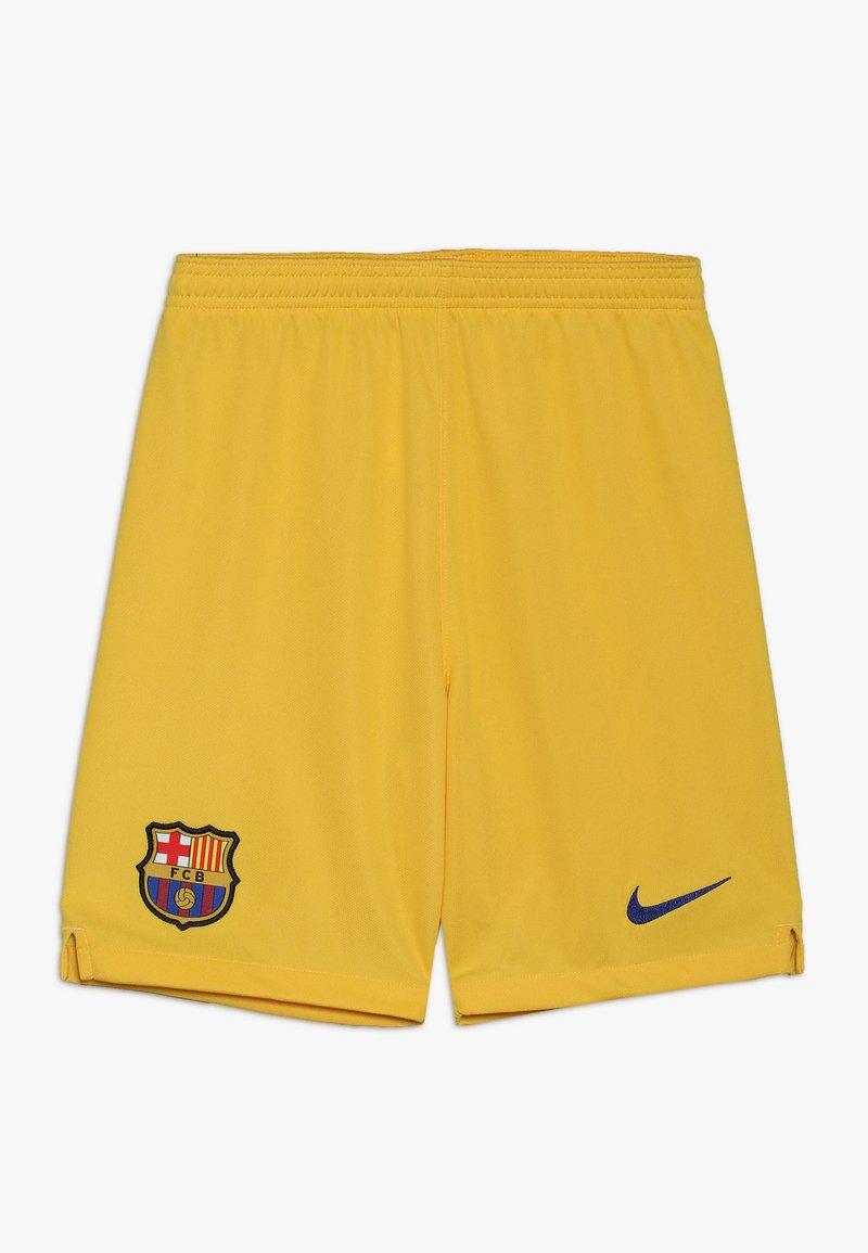 Nike Performance - FC BARCELONA SHORT - Korte sportsbukser - yellow