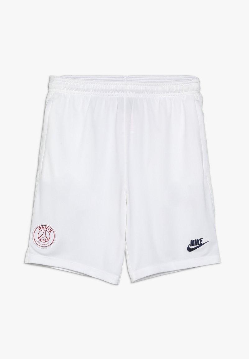Nike Performance - PARIS ST GERMAIN Y DRY SHORT - Korte broeken - white/pure platinum