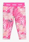 Nike Performance - GIRLS DRI-FIT WONDERLAND CAPRI - Tights - laser fuchsia