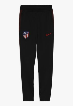 ATLETICO MADRID DRY PANT - Fanartikel - black/challenge red
