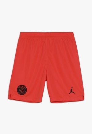 PARIS ST GERMAIN SHORT - Pantaloncini sportivi - infrared/black