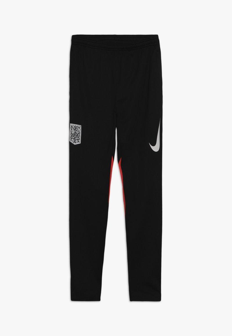 Nike Performance - NEYMAR DRY PANT - Tracksuit bottoms - black/laser crimson/white