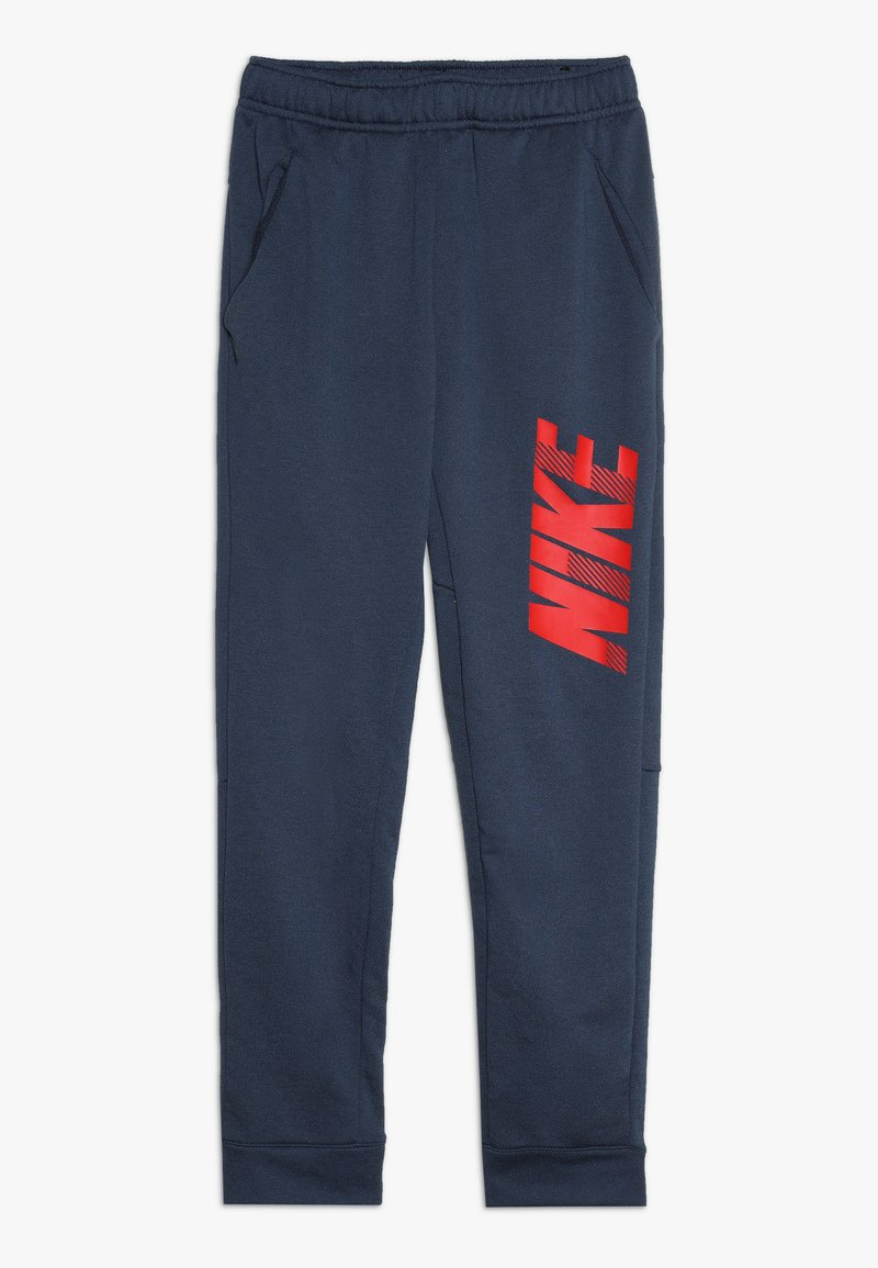 Nike Performance - DRY PANT - Tracksuit bottoms - midnight navy/university red