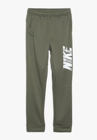 Nike Performance - DRY PANT - Pantalon de survêtement - medium olive/white - 0