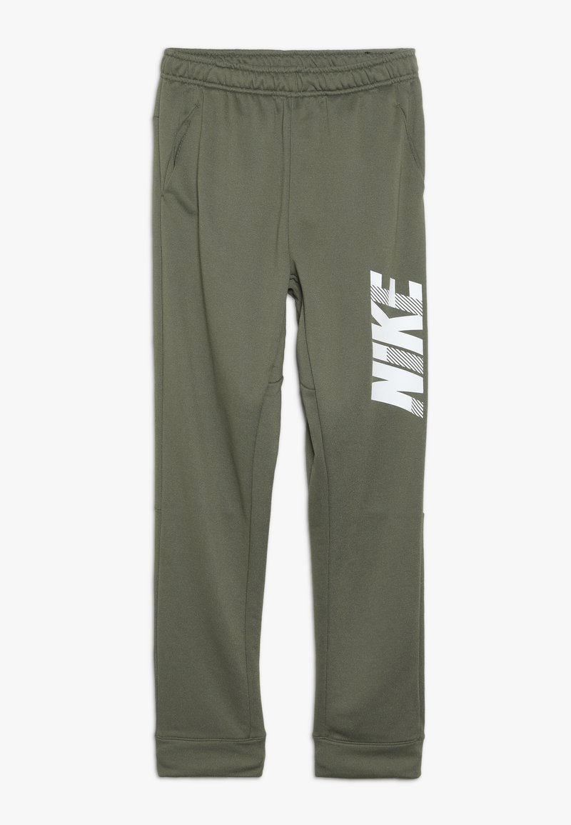 Nike Performance - DRY PANT - Pantalon de survêtement - medium olive/white