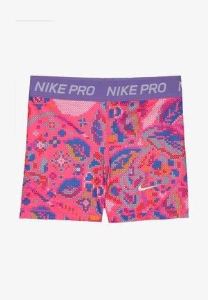 BOY SHORT FEMME - Collants - hyper pink/space purple/white