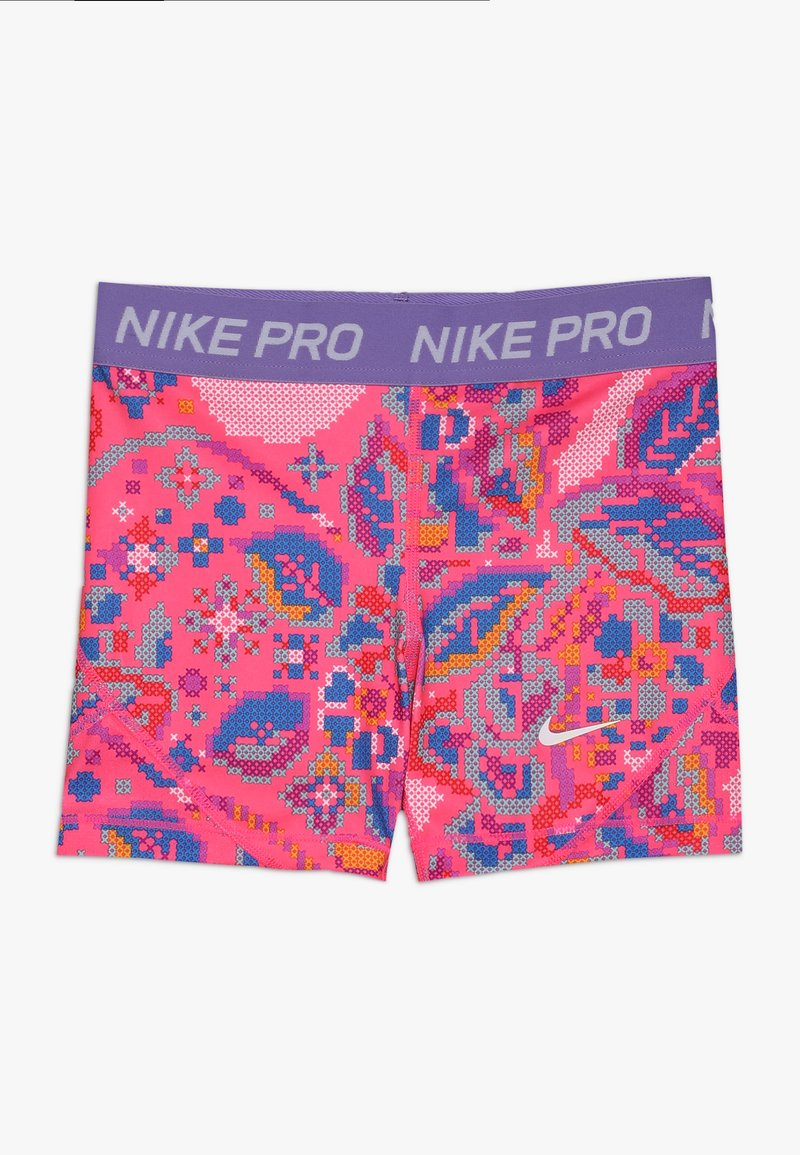 Nike Performance - BOY SHORT FEMME - Tights - hyper pink/space purple/white