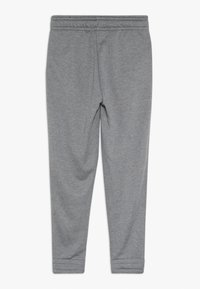 Nike Performance - STUDIO PANT - Tracksuit bottoms - carbon heather/bleached coral - 1