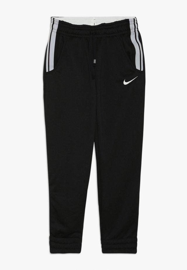 STUDIO PANT - Teplákové kalhoty - black/metallic silver