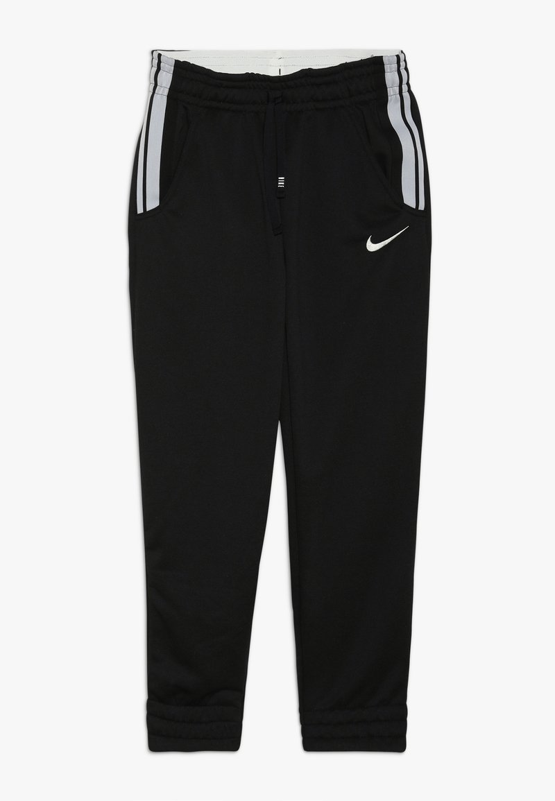 Nike Performance - STUDIO PANT - Jogginghose - black/metallic silver