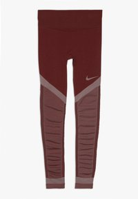 Nike Performance - FENOM SEAMLESS - Leggings - cedar/echo pink - 0