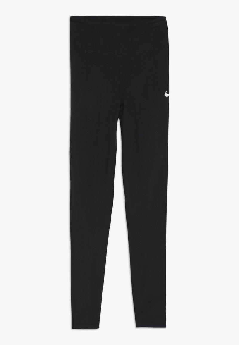 Nike Performance - TRAIN STUDIO - Leggings - black/white