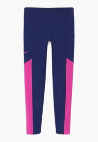 Nike Performance - TROPHY - Leggings - blue void/fire pink