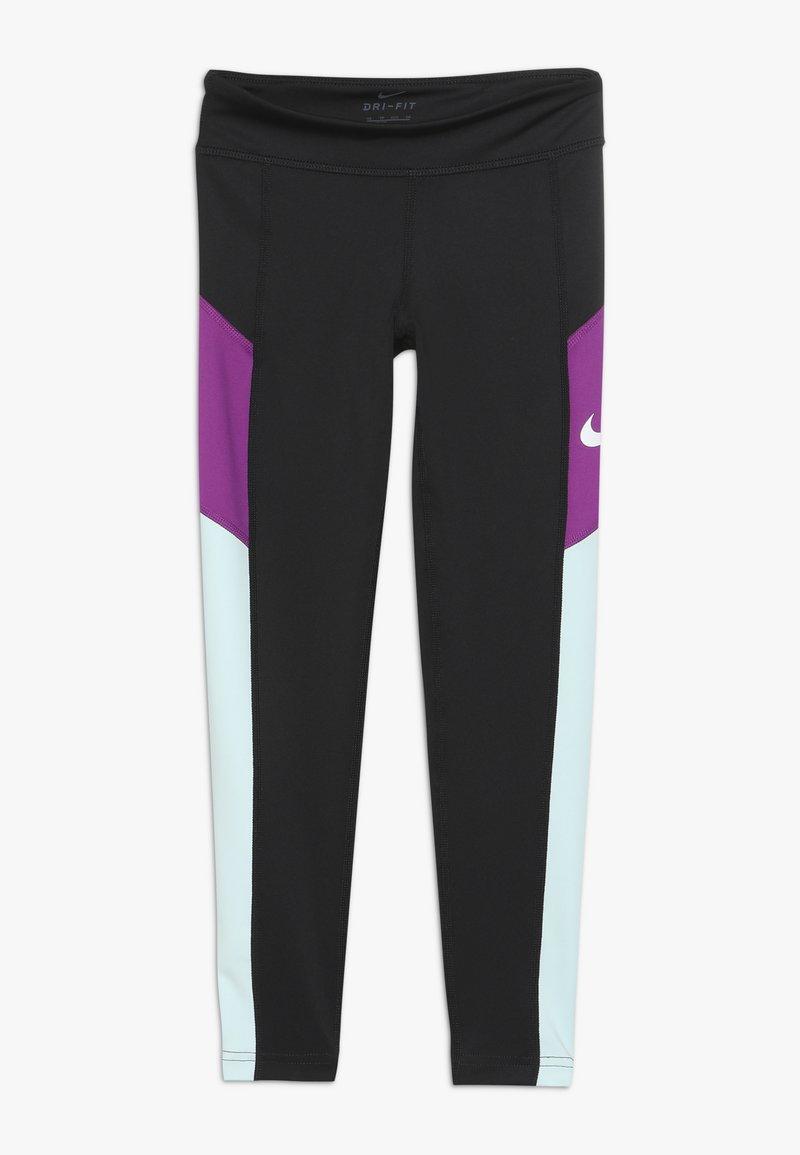 Nike Performance - TROPHY - Medias - black/teal tint/vivid purple/white