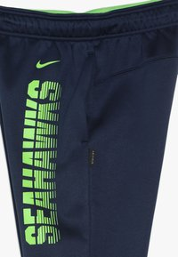 Nike Performance - NFL SEATTLE SEAHAWKS THERMA PANT - Vereinsmannschaften - college navy - 3