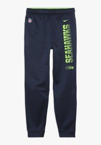 Nike Performance - NFL SEATTLE SEAHAWKS THERMA PANT - Vereinsmannschaften - college navy - 0