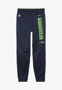 Nike Performance - NFL SEATTLE SEAHAWKS THERMA PANT - Vereinsmannschaften - college navy - 2