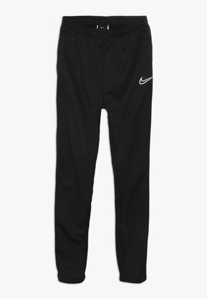 PANT  - Tracksuit bottoms - black/reflective silver
