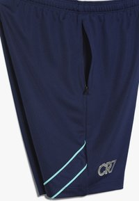 Nike Performance - CR7 DRY SHORT  - Korte sportsbukser - blue void/hyper jade/metallic silver - 3