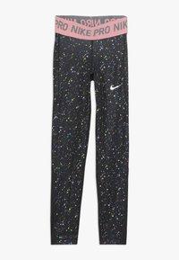 Nike Performance - PRINT - Leggings - black/pink gaze - 0