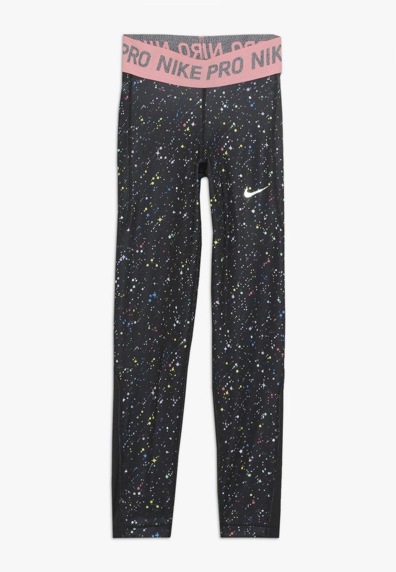 Nike Performance - PRINT - Leggings - black/pink gaze