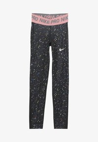 Nike Performance - PRINT - Legginsy - black/pink gaze - 3