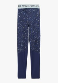 Nike Performance - PRINT - Leggings - blue void/teal tint - 1