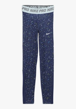 PRINT - Legging - blue void/teal tint