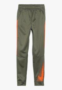 Nike Performance - THERMA PANT - Trainingsbroek - medium olive/total orange - 0