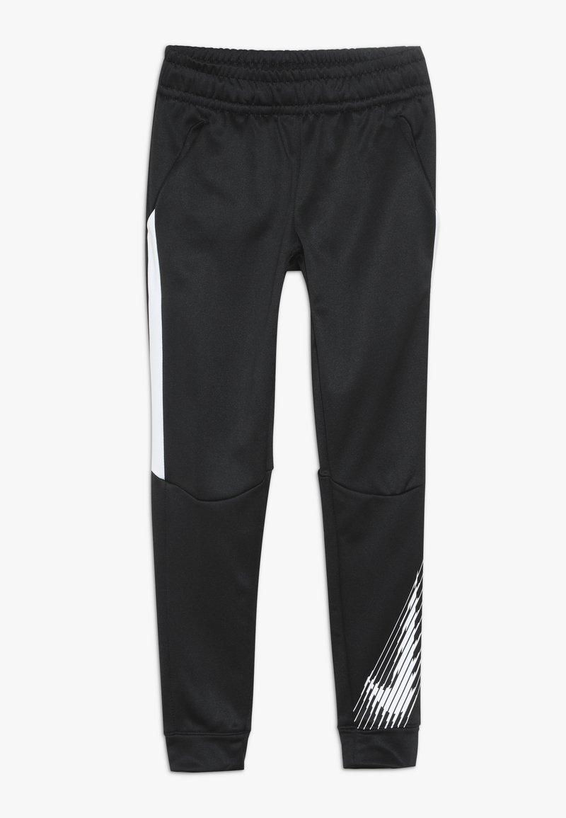 Nike Performance - THERMA PANT - Træningsbukser - black/white