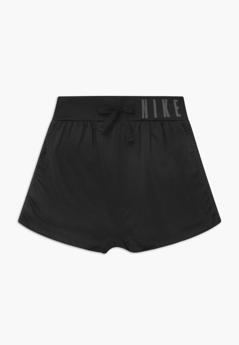 Nike Performance - SEAMLESS - Krótkie spodenki sportowe - black/dark grey