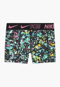Nike Performance - BOY SHORT - Collant - black/magic flamingo - 1