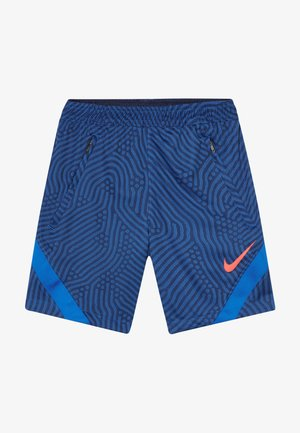 DRY STRIKE SHORT - Short de sport - midnight navy/soar/laser crimson