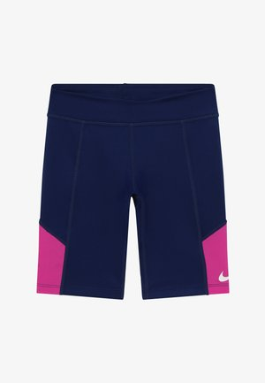 TROPHY BIKE SHORT - Collant - blue void/fire pink