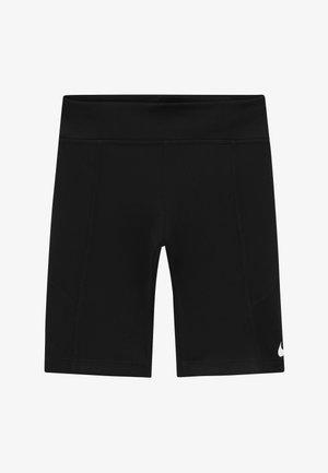 TROPHY BIKE SHORT - Legging - black/white