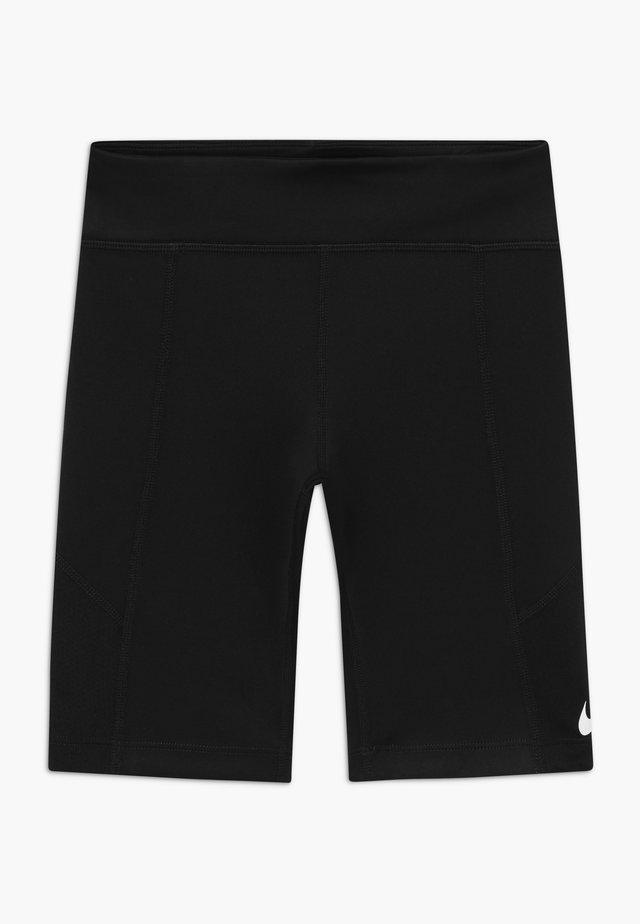 TROPHY BIKE SHORT - Leggings - black/white